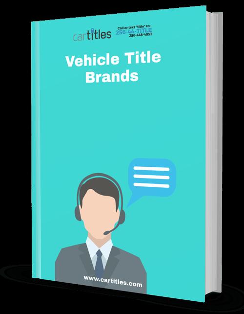 vehicle title brands ebook